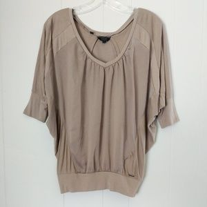 Guess Top Dolman Sleeve Size Small